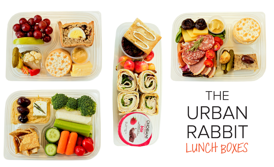 EAT Club Urban Rabbit Lunchboxes