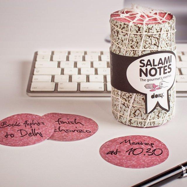 salami office notes