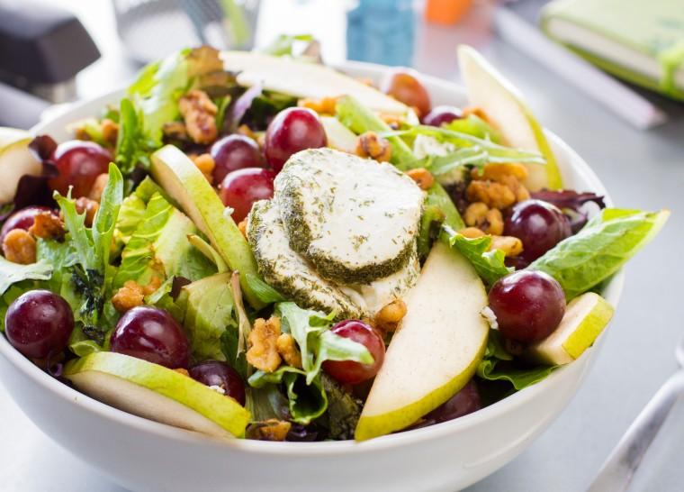 Urban Rabbit Pear & Goat Cheese Salad