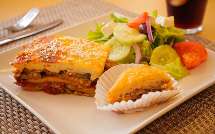 Vegetarian Mousaka