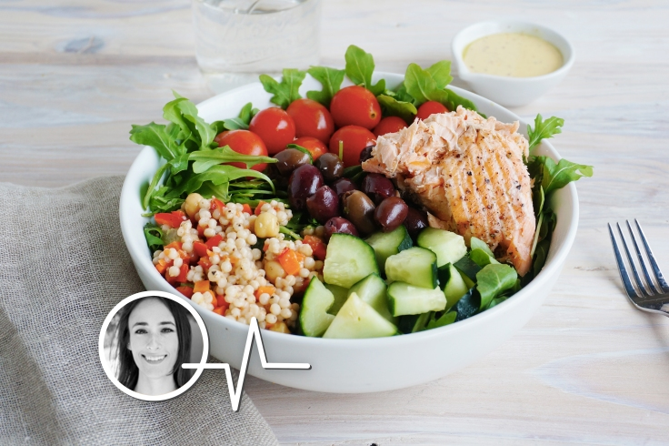 Salmon Couscous Salad