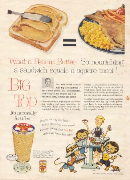 Big Top peanut butter