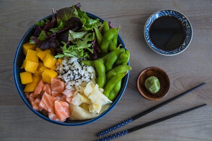salmon-fruit-poke